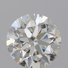 GIA Certified 1.00 Carat H Color VS1 Clarity Round Diamond