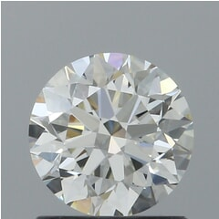 GIA Certified 0.93 Carat J Color VVS2 Clarity Round Diamond