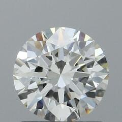 GIA Certified 1.02 Carat I Color VVS2 Clarity Round Diamond