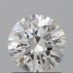 GIA Certified 1.01 Carat I Color IF Clarity Round Diamond