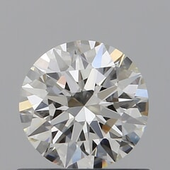 GIA Certified 0.60 Carat I Color IF Clarity Round Diamond