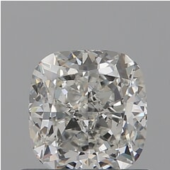 GIA Certified 0.71 Carat I Color VS2 Clarity Cushion Diamond