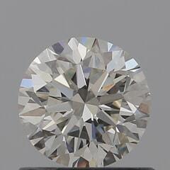 GIA Certified 0.70 Carat J Color VVS2 Clarity Round Diamond
