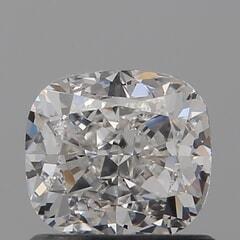 GIA Certified 1.01 Carat G Color VS1 Clarity Cushion Diamond