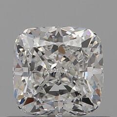 GIA Certified 0.70 Carat H Color VS2 Clarity Cushion Diamond