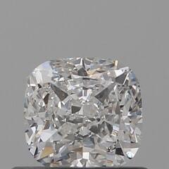 GIA Certified 0.60 Carat G Color VS2 Clarity Cushion Diamond