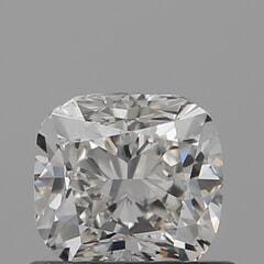 GIA Certified 0.70 Carat I Color VS1 Clarity Cushion Diamond
