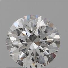 GIA Certified 0.60 Carat H Color VS2 Clarity Round Diamond