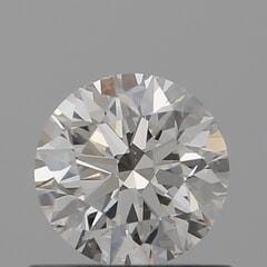 GIA Certified 0.60 Carat I Color VS2 Clarity Round Diamond
