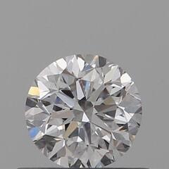 GIA Certified 0.50 Carat D Color VS1 Clarity Round Diamond