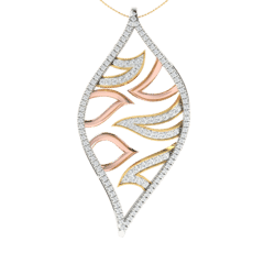 18KT Gold and 0.64 Carat Diamond Pendant