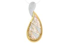 18KT Gold and 0.72 Carat Diamond Pendant