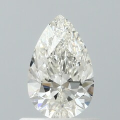 GIA Certified 0.60 Carat G Color VVS1 Clarity Pear Diamond