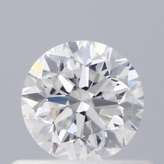 GIA Certified 0.50 Carat F Color VVS1 Clarity Round Diamond