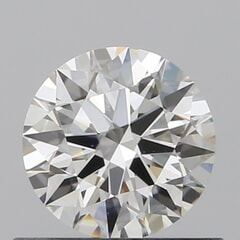 GIA Certified 0.50 Carat G Color VS1 Clarity Round Diamond