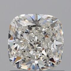 GIA Certified 1.01 Carat H Color VS1 Clarity Cushion Diamond