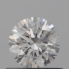GIA Certified 0.50 Carat F Color VS1 Clarity Round Diamond