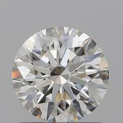 GIA Certified 1.01 Carat I Color VS1 Clarity Round Diamond