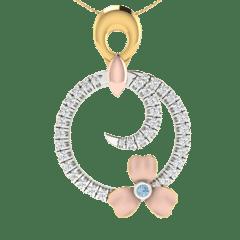 18KT Gold and 0.25 Carat Diamond Pendant