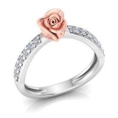 0.26 Carat Diamond Gold Ring