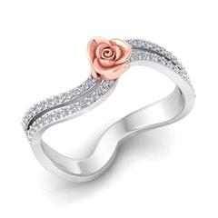 0.20 Carat Diamond Gold Ring