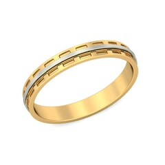 18KT Gold Band