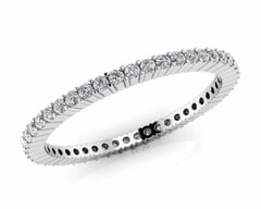 18KT Gold Forty Seven Stone Diamond Eternity Ring