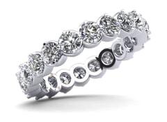 18KT Gold Twenty Eight Stone Diamond Eternity Ring