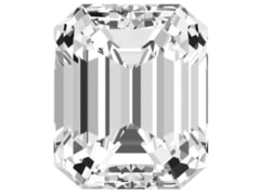 1.00 Carat Emerald I-Color SI2-Clarity IGI Certified