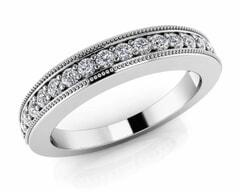18KT Gold Twenty Four Stone Diamond Anniversary Ring