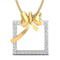 Round Diamond Fancy Pendant