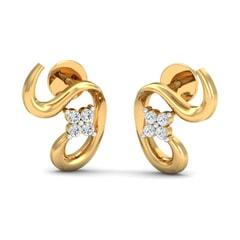 Round Diamond Fancy Earrings
