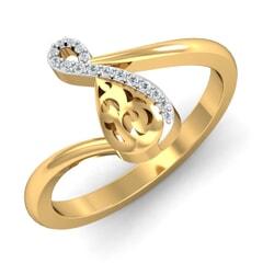 Round Diamond Fancy Ring