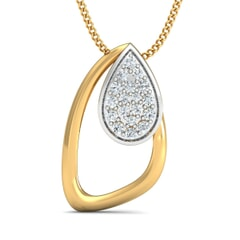 Round Diamond Fancy Pendant