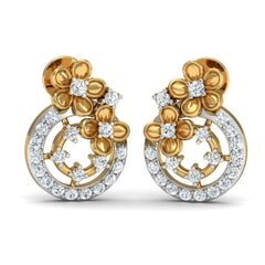 Round Diamond Fancy Earrings