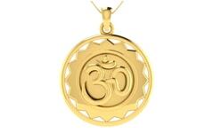 Gold Religious Pendant